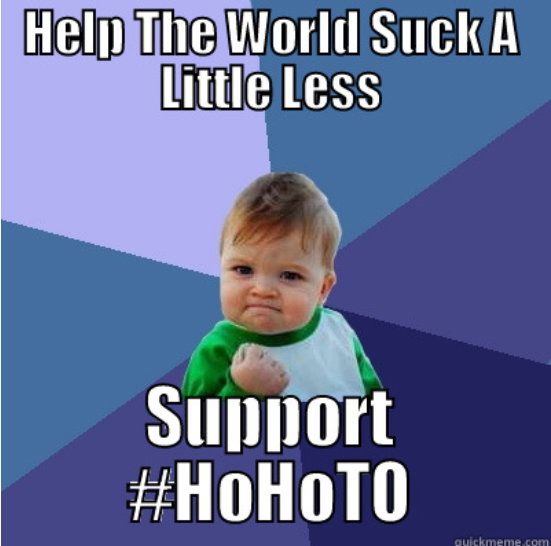 Lex's first meme caption all for #HoHoTO